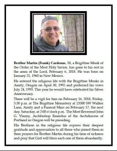 2018-02-06Br Martin RIP